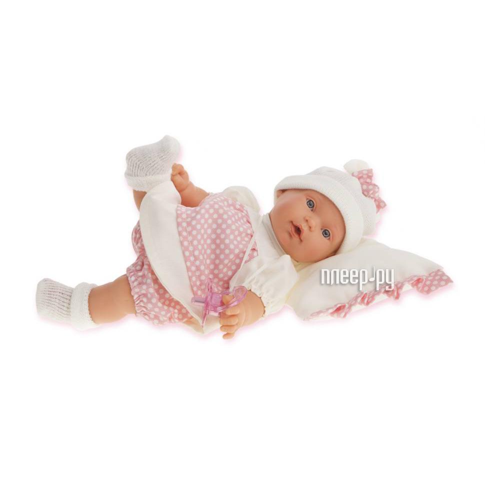 Кукла Antonio Juan Кукла Ланита на бежевой подушке 1111W