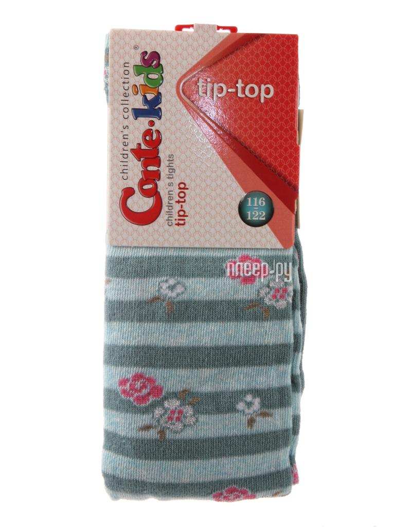 Колготки Conte Kids Tip-Top 7С-78СП 116-122 Grey Turquoise 409