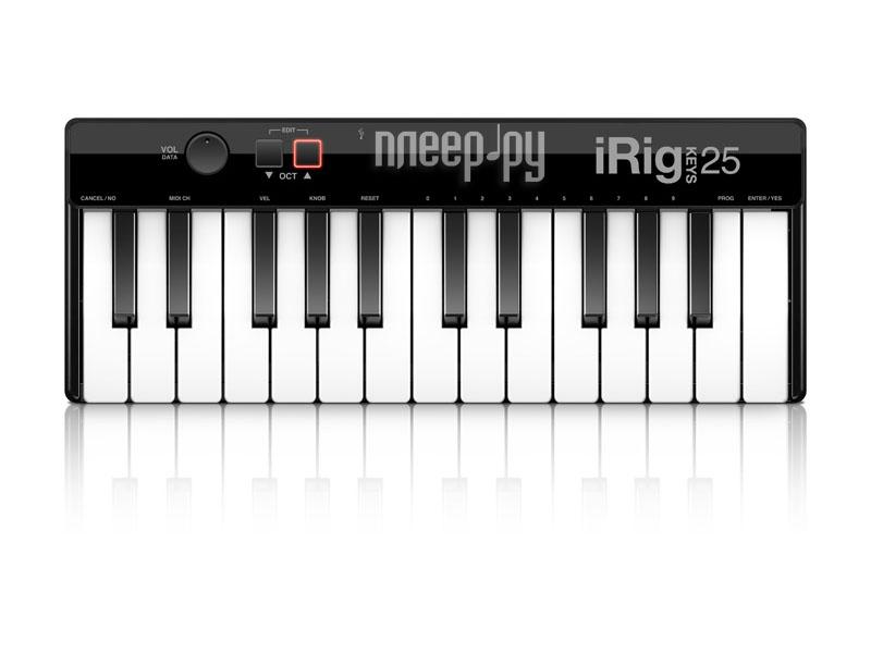MIDI-клавиатура IK Multimedia iRig Keys Mini