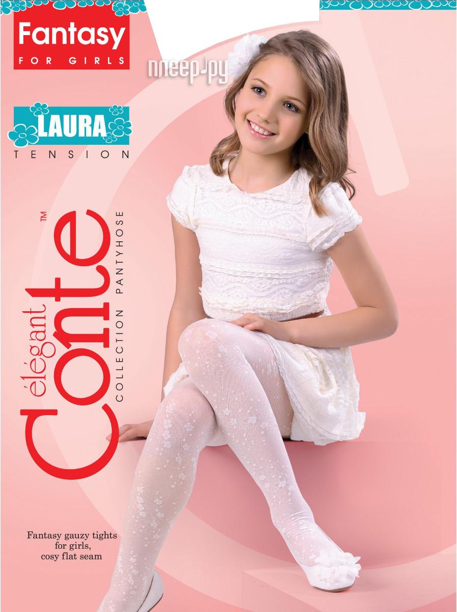 Колготки Conte Laura 116-122 Bianco