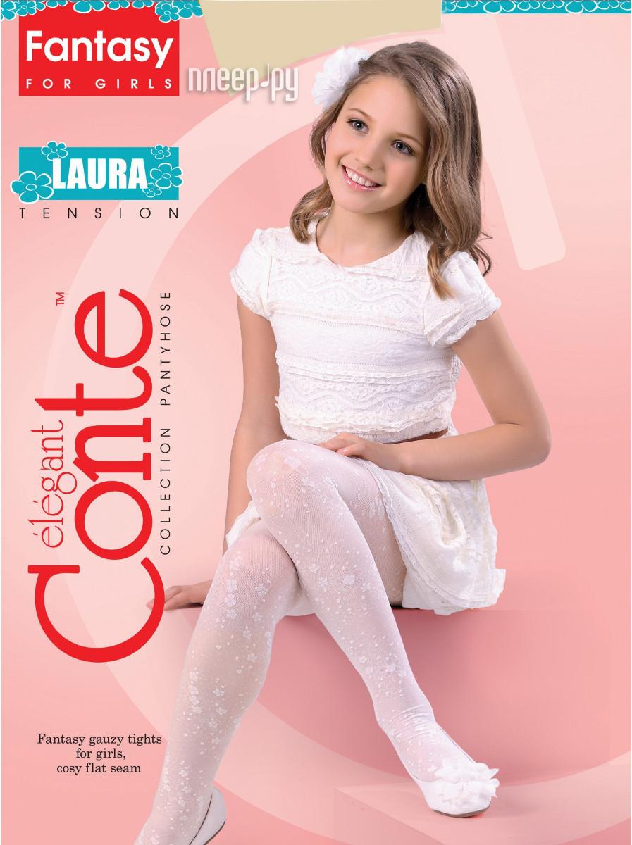 Колготки Conte Laura 116-122 Panna