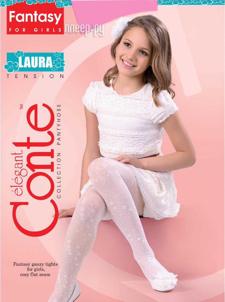Колготки Conte Laura 128-134 Pink
