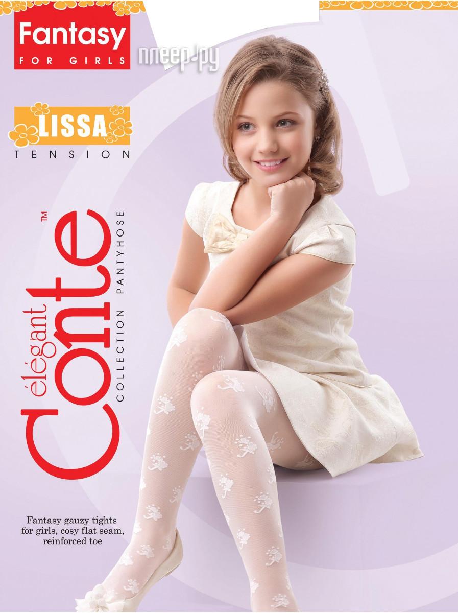 Колготки Conte Lissa 116-122 Bianco