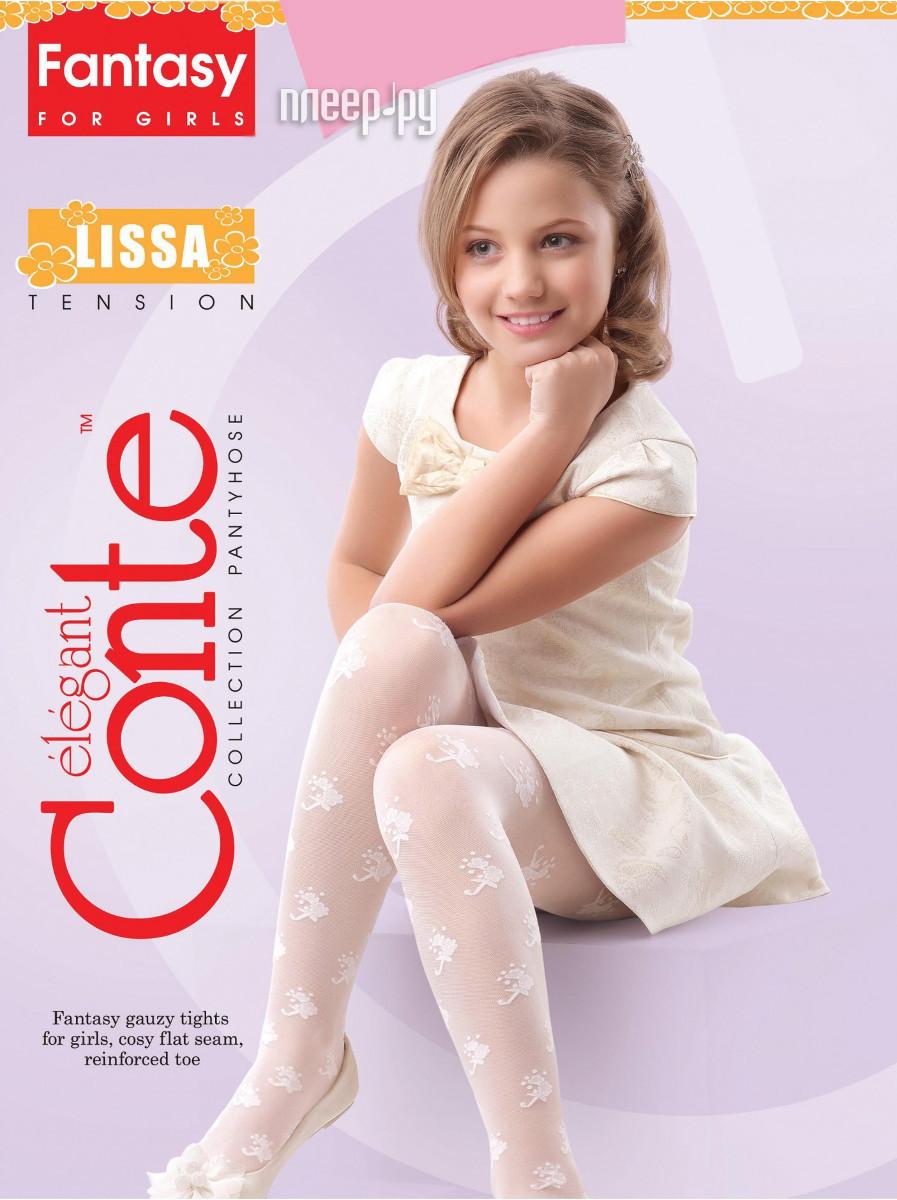 Колготки Conte Lissa 128-134 Pink