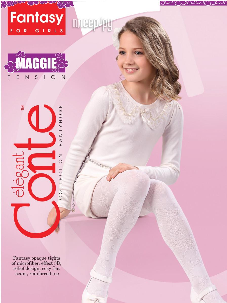 Колготки Conte Maggie 104-110 Bianco