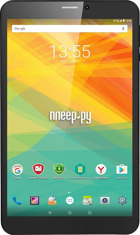 Планшет Prestigio MultiPad Wize 3418 4G PMT34184GECCIS (MediaTek MT8735B 1.1 GHz / 1024Mb / 8Gb / GPS / LTE / Wi-Fi / Bluetooth / Cam / 8.0 / 1280x800 / Android)