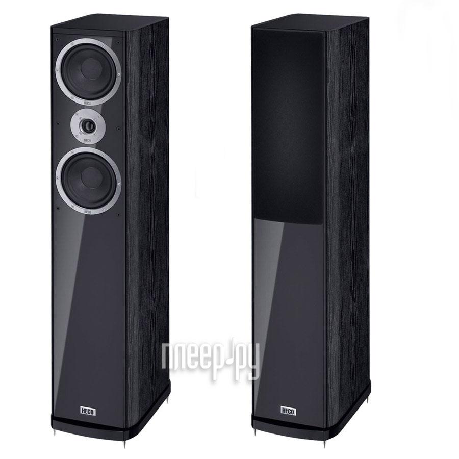 Колонки Heco АС Music Style 500 Black (2шт)