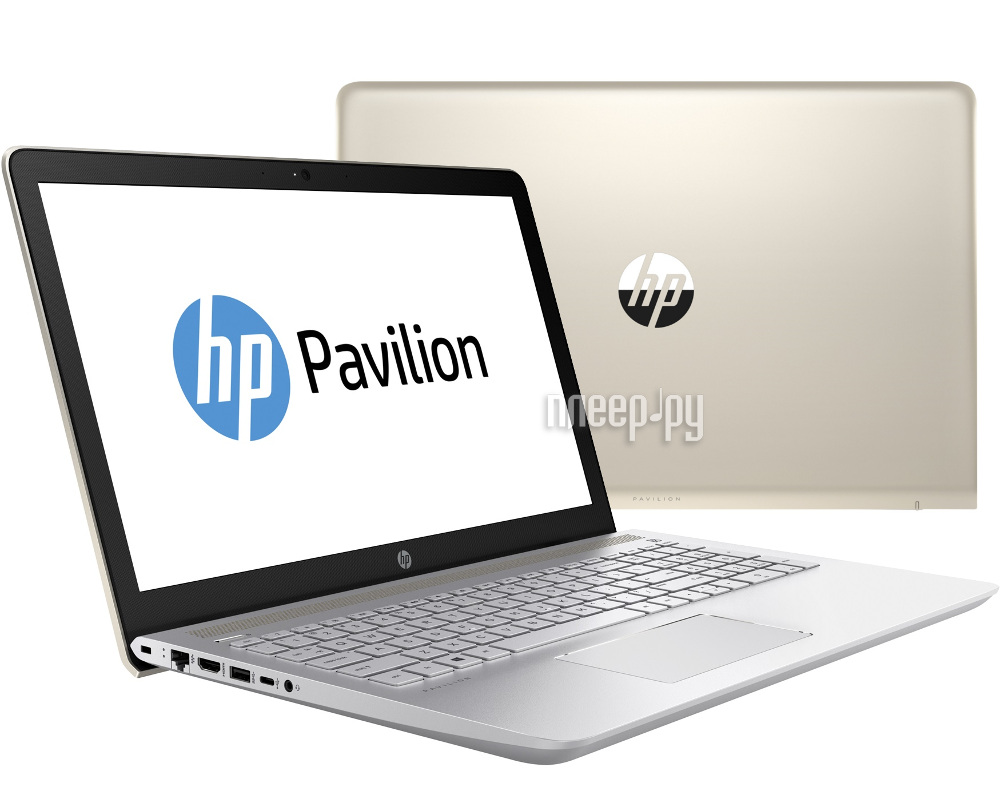 Ноутбук HP Pavilion 15-cc005ur 1ZA89EA (Intel Core i3-7100U 2.4 GHz / 6144Mb / 1000Gb / DVD-RW / Intel HD Graphics / Wi-Fi / Cam / 15.6 / 1920x1080 / Windows 10 64-bit)