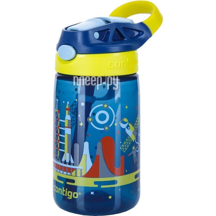 Бутылка Contigo Gizmo Flip 420ml Blue contigo0742