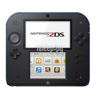 Игровая приставка Nintendo 2DS Blue-Black + Mario Kart 7 ConNd2D8