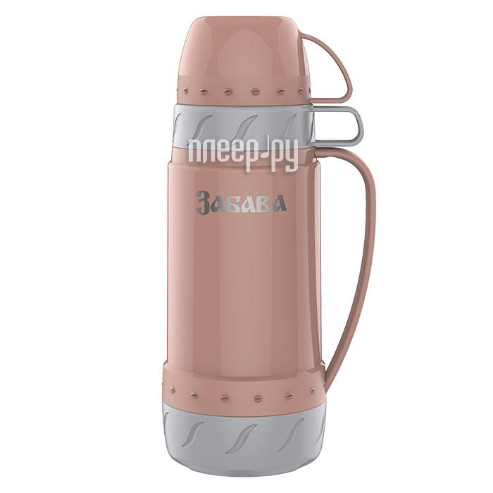 Термос Забава РК-1002 1L Peach-Grey