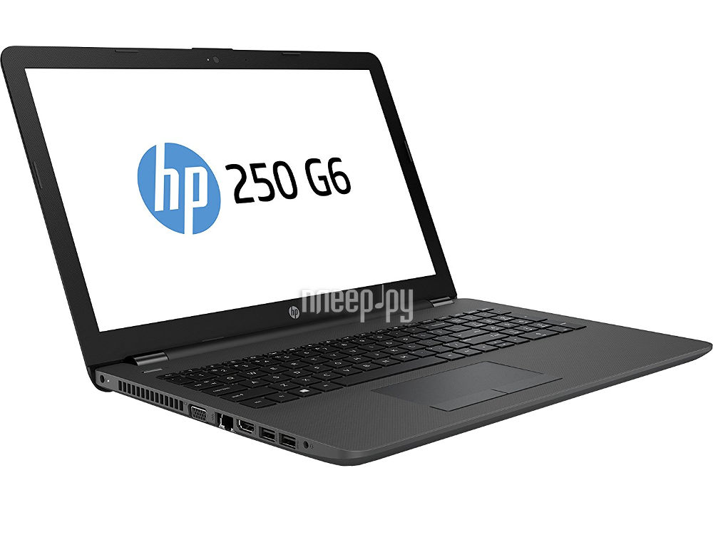 Ноутбук HP 250 G6 1XN46EA (Intel Core i3-6006U 2.0 GHz / 4096Mb / 500Gb / DVD-RW / AMD Radeon R5 M430 / Wi-Fi / Bluetooth / Cam / 15.6 / 1366x768 / Windows 10 64-bit)