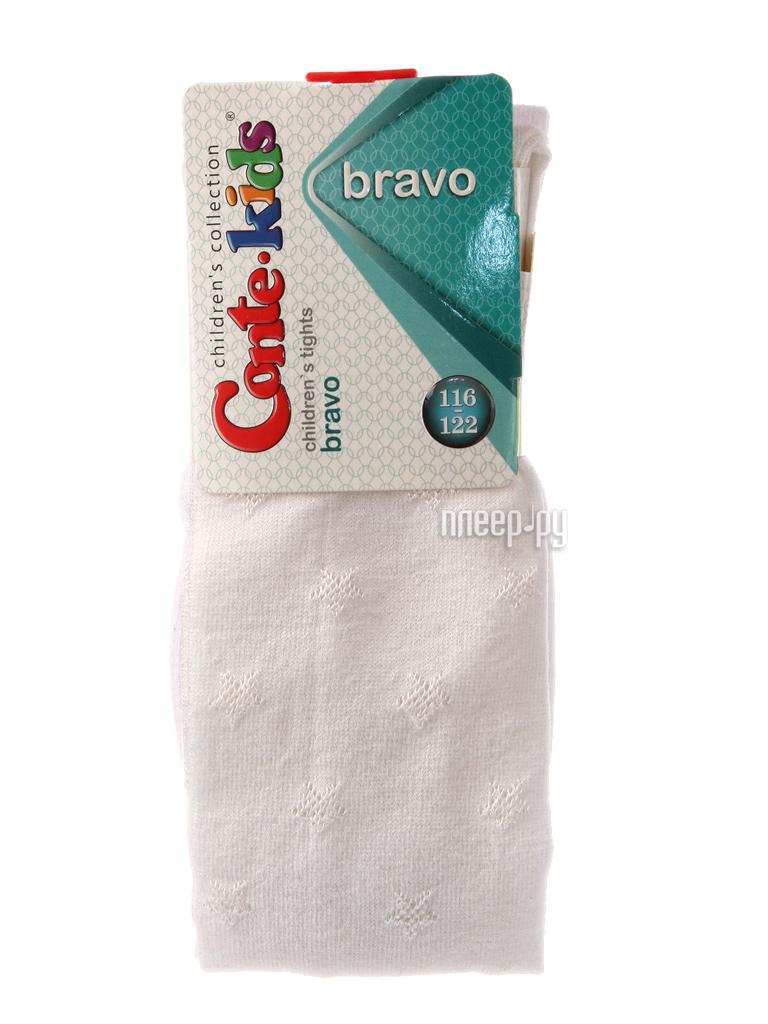 Колготки Conte Kids Bravo 14C-123CП 116-122 White