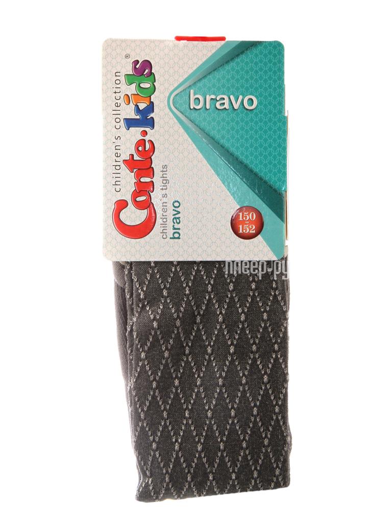 Колготки Conte Kids Bravo 14C-123CП 150-152 Dark Grey