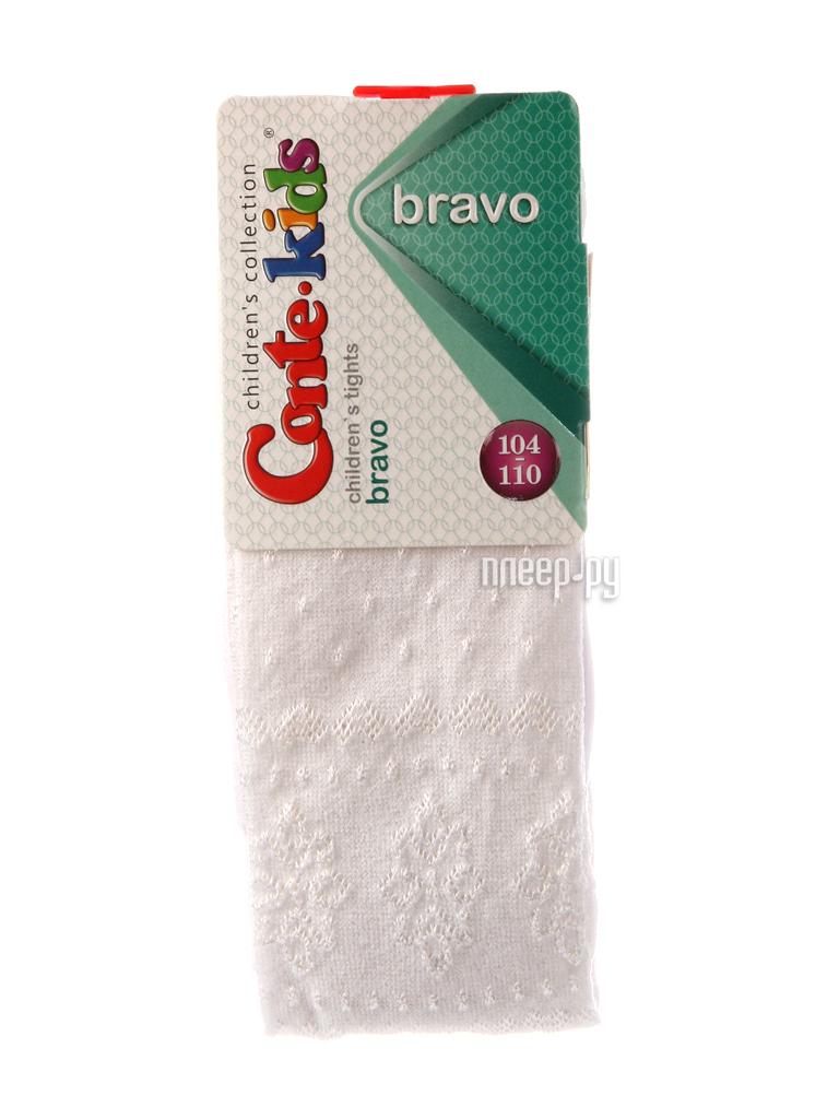 Колготки Conte Kids Bravo 14C-123CП 104-110 White