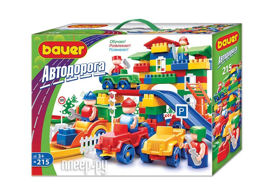 Конструктор Bauer Автодорога 250