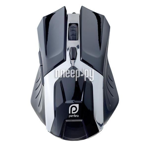 Мышь Perfeo Galaxy USB Black PF-1718-GM