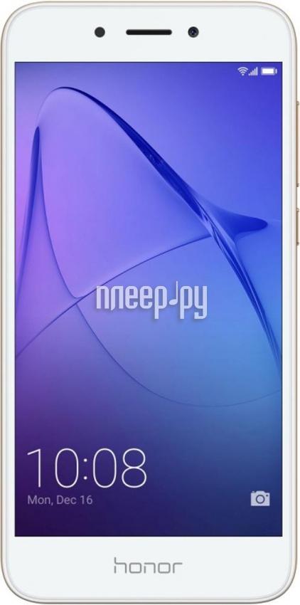 Сотовый телефон Huawei Honor 6A Gold за 8579 рублей
