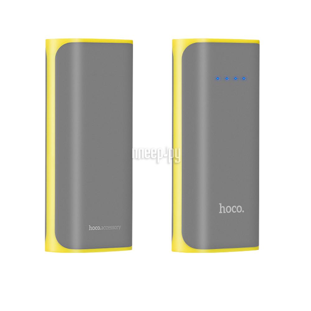 Аккумулятор HOCO B21 Xiao Nai 5200mAh Grey