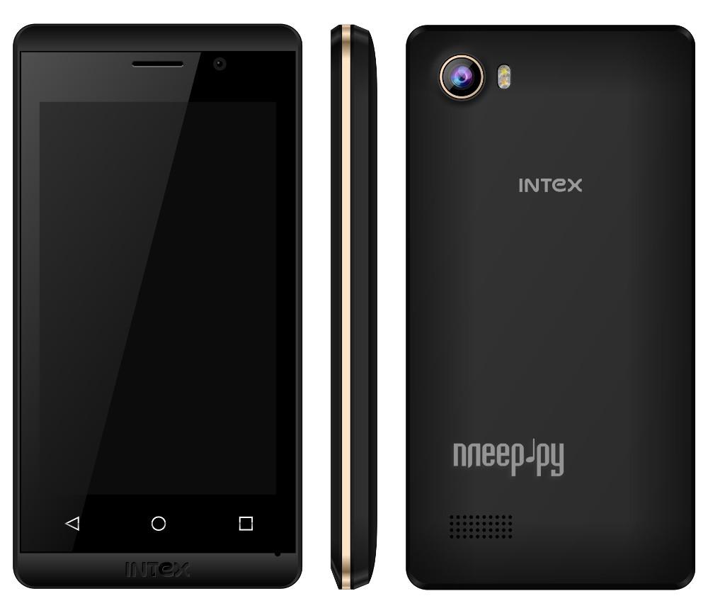 Сотовый телефон Intex Aqua Joy Black