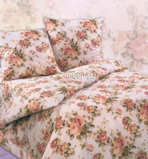 Купить Постельное белье Экзотика Чайная роза Комплект 2 спальный Поплин