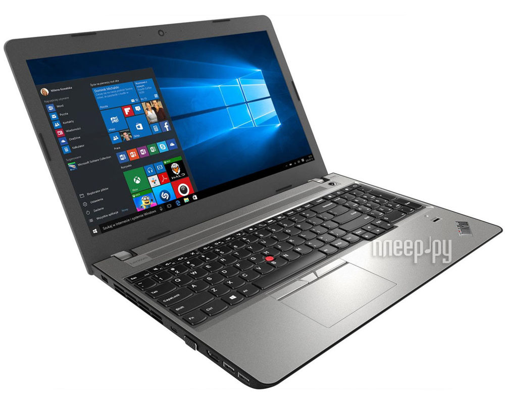Ноутбук Lenovo ThinkPad Edge E570 20H500B0RT (Intel Core i5-7200U 2.5 GHz / 4096Mb / 180Gb SSD / DVD-RW / Intel HD Graphics / Wi-Fi / Bluetooth / Cam / 15.6 / 1920x1080 / Windows 10)