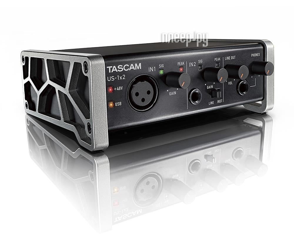 Аудиоинтерфейс Tascam US-1x2 за 6844 рублей