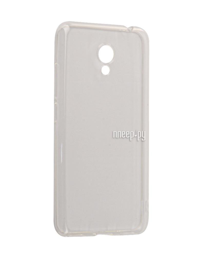 Аксессуар Чехол Meizu M5C / M5A BoraSCO Silicone Transparent