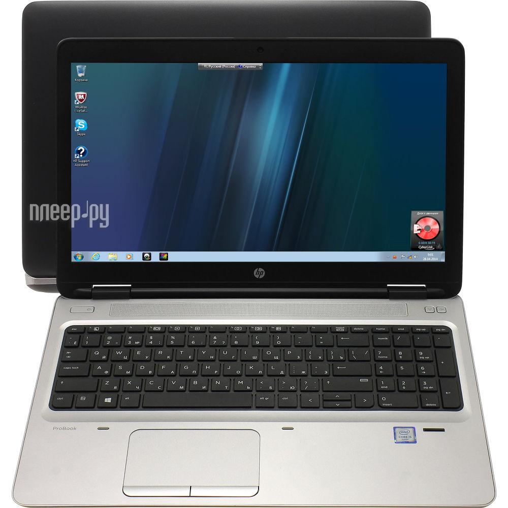 Ноутбук HP ProBook 650 G2 Y3B05EA (Intel Core i5-6200U 2.3 GHz / 4096Mb / 500Gb / DVD-RW / Intel HD Graphics / Wi-Fi / Bluetooth / Cam / 15.6 / 1366x768 / Windows 7 64-bit)