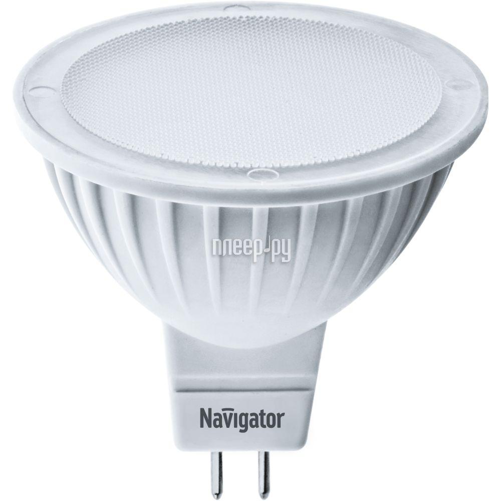 Лампочка Navigator 94 262 NLL-MR16-5-12-3K-GU5.3 (теплый, 3000К)