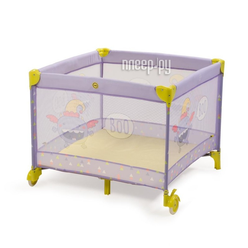 Манеж-кровать Happy Baby Alex Violet 4650069782384 купить