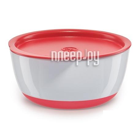 Набор тарелочек с крышкой Happy Baby Bowl Set Red 15025 4650069782070