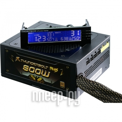 Блок питания GeIL Thunderbolt Plus R800W JP TP-T800IFAGS-9R