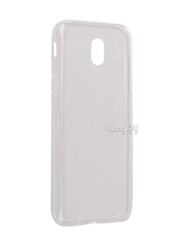 Аксессуар Чехол Samsung Galaxy J1 2016 SkinBox 4People Slim Silicone Transparent T-S-SGJ12016-006