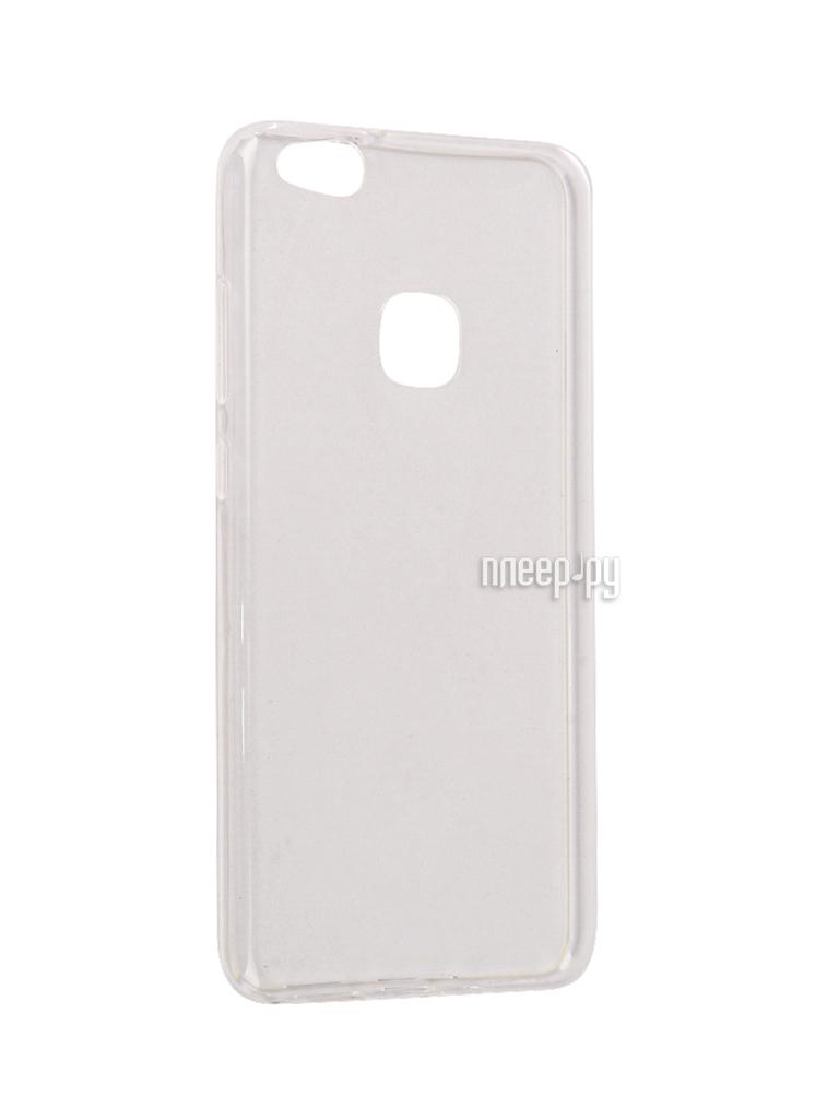 Аксессуар Чехол-накладка Huawei P10 Lite SkinBox Slim Silicone Transparent T-S-HP10L-006