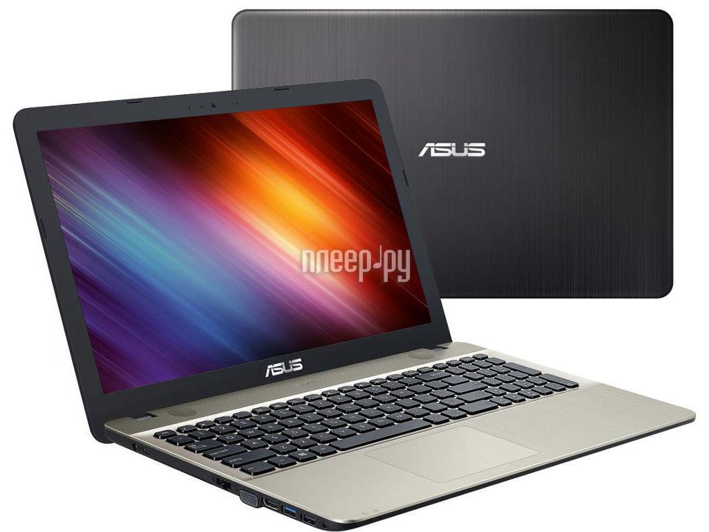 Ноутбук ASUS X541NA-DM379 90NB0E81-M06790 (Intel Pentium N4200 1.1 GHz / 4096Mb / 128Gb SSD / DVD-RW / Intel HD Graphics / Wi-Fi / Bluetooth / Cam / 15.6 / 1920x1080 / Endless)