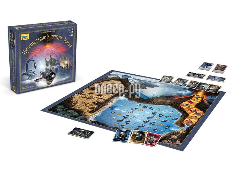 Настольная игра Zvezda Путешествие к центру Земли 8745