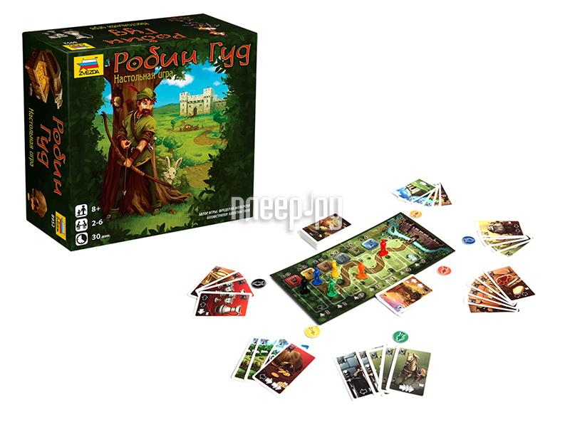 Настольная игра Zvezda Робин Гуд 8952
