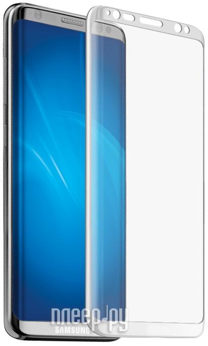 Аксессуар Защитное стекло Samsung Galaxy S8 Plus Onext 3D White 41265