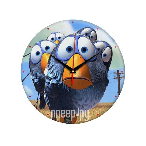 Часы Эврика Птички 98298