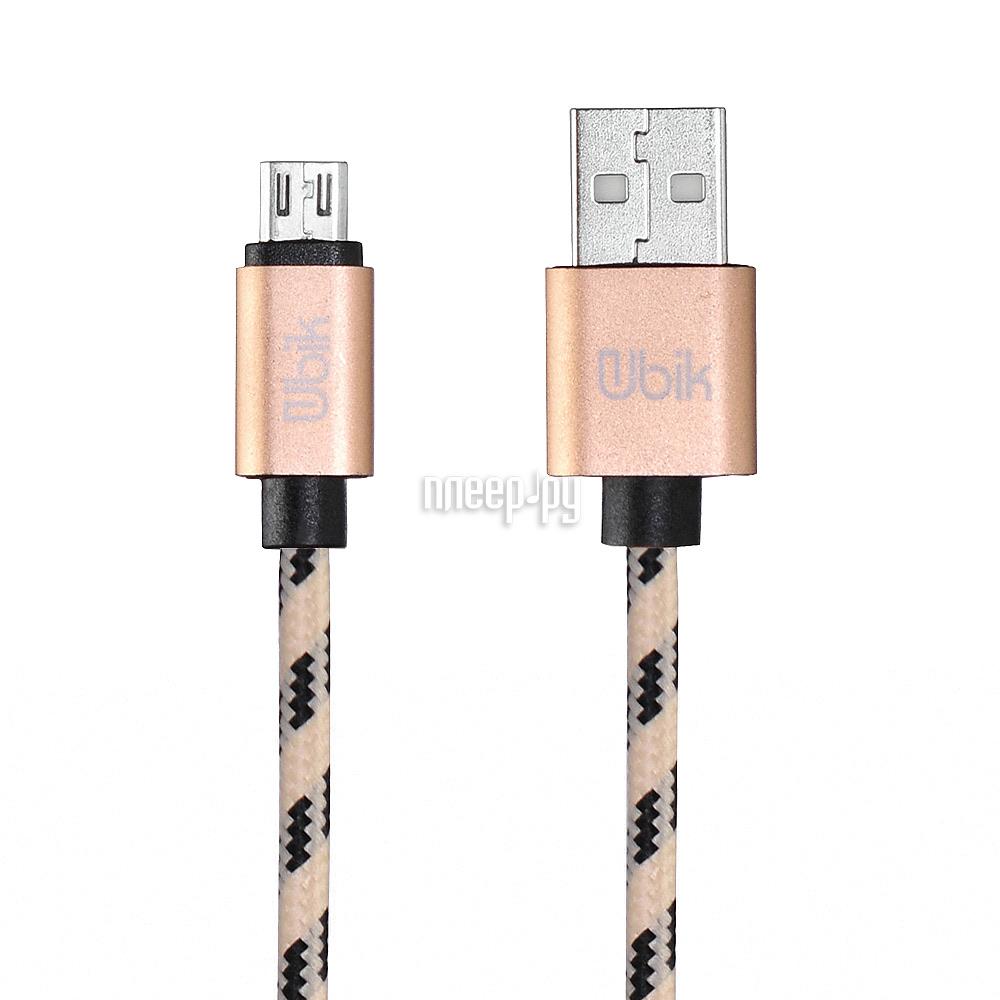 Аксессуар Ubik UM07 USB - Micro USB Yellow