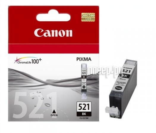 Картридж Canon CLI-521BK Black 2933B004