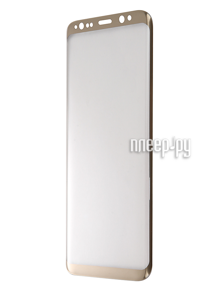 Аксессуар Защитное стекло Samsung Galaxy SM-G950 S8 Activ Glass 3D Full Cover Gold 70169