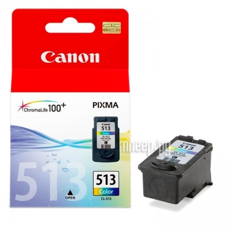 Картридж Canon CL-513 Color для MP240 / MP250 / MP260 / MP270 / MP490 / MX320 / MX330 2971B007 / 2971B001