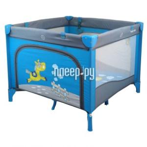 Купить Манеж-кровать Baby Mix Larry Blue