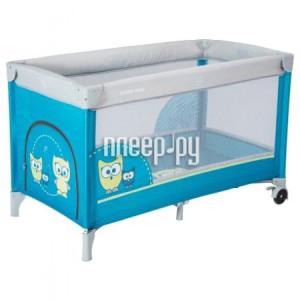 Купить Манеж-кровать Baby Mix Sowa Blue