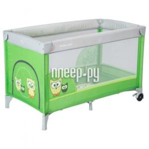 Купить Манеж-кровать Baby Mix Sowa Green