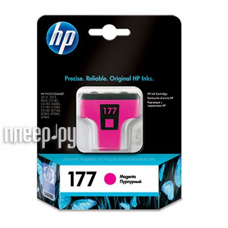 Картридж HP 177 C8772HE Magenta  Pleer.ru  520.000