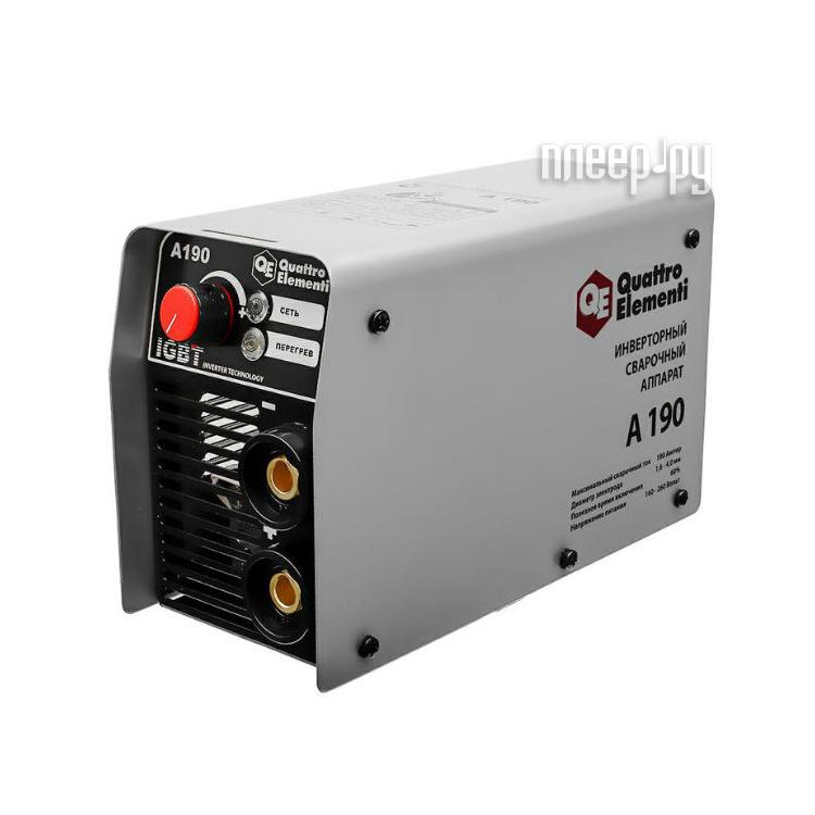 Сварочный аппарат Quattro Elementi A 190 248-528 за 4099 рублей