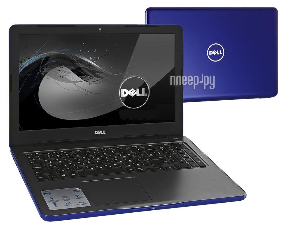 Ноутбук Dell Inspiron 5565 5565-7476 (AMD A10-9600P 2.4 GHz / 8192Mb / 1000Gb / DVD-RW / AMD Radeon R7 M445 / Wi-Fi / Bluetooth / Cam / 15.6 / 1920x1080 / Linux)